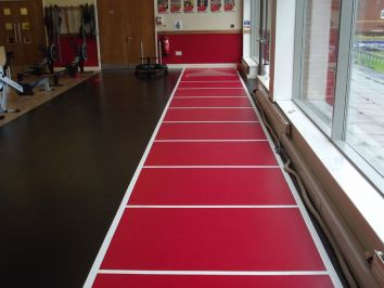 Gym Floor Markings and Graphics
